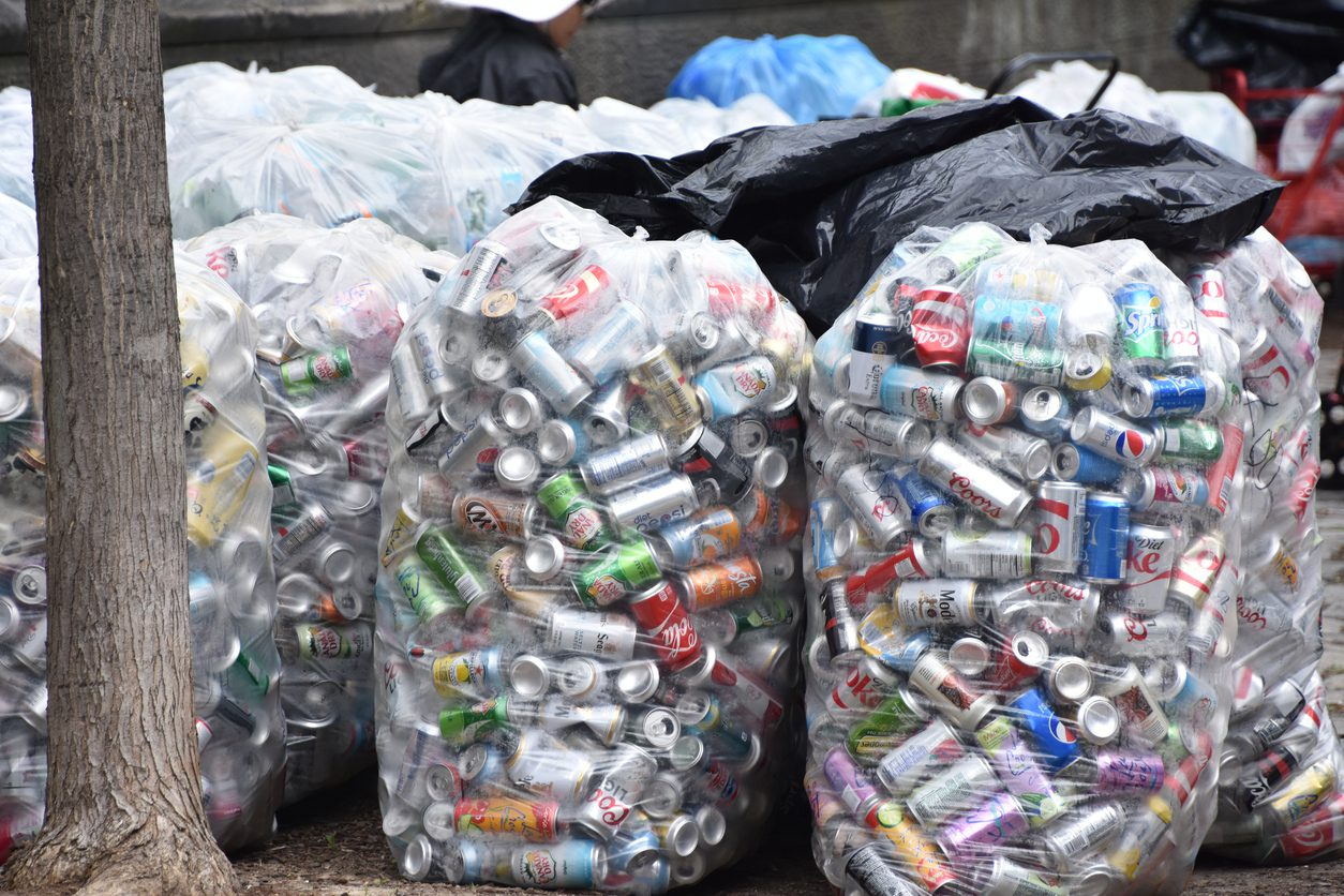 Should I Put My Recyclables in a Garbage Bag?
