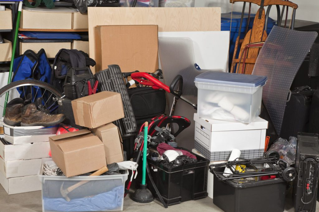 remove clutter from your garage now that it's springtime