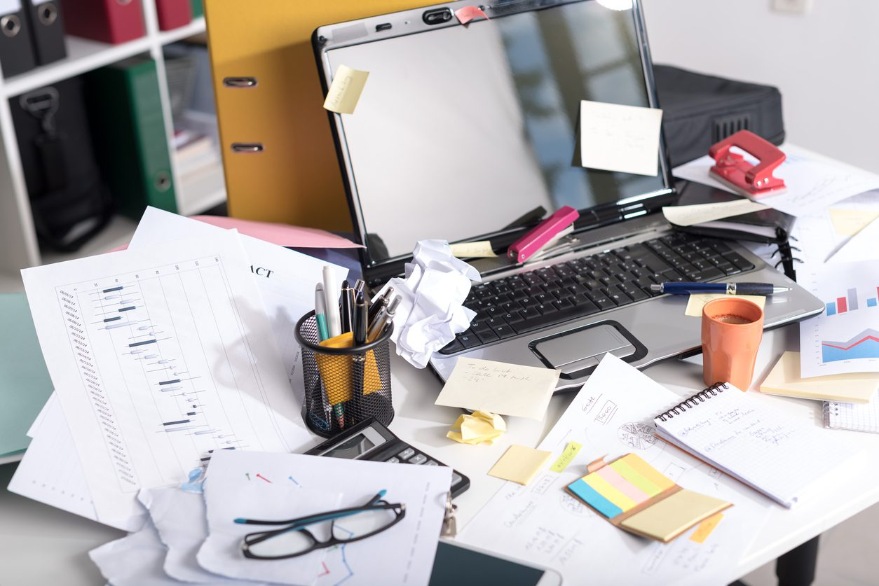 How to Quickly Organize Your Home Office | Residential Waste Systems